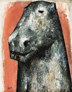 Akira Tanaka | Cou de cheval, 1953
