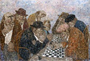 Akira Tanaka | La partie d'échecs, 1977