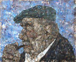 Akira Tanaka | Le fumeur de pipe, 1981