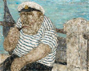 Akira Tanaka | Le gondolier de Venise, 1970