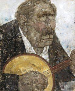 Akira Tanaka | Le joueur de banjo, 1976