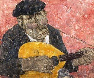 Son œuvre | Le joueur de mandoline, 1972
