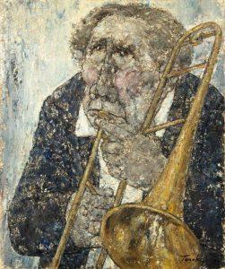 Akira Tanaka | Le tromboniste, 1981
