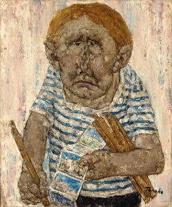 Akira Tanaka | Le vendeur de rue à Venise, 1978