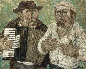 Akira Tanaka | Les musiciens de rue, 1979