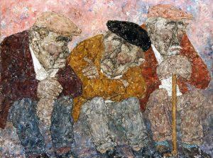Akira Tanaka | Les trois vieux, 1976