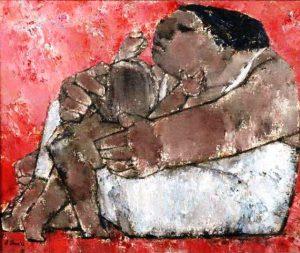 Akira Tanaka | Maternité, 1959