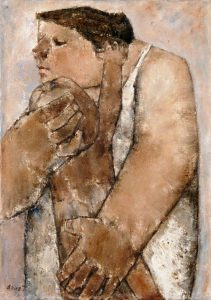Akira Tanaka| Maternité-3, 1959