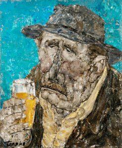 Akira Tanaka | Vive la bière, 1981