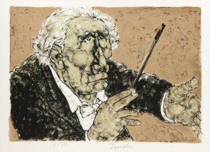 Estampes | Le chef d'orchestre
