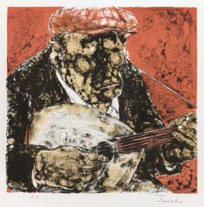Estampes | Le joueur de mandoline
