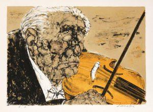 Estampes | Le violoniste