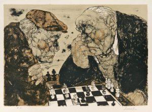 Estampes | Les joueurs d'échecs